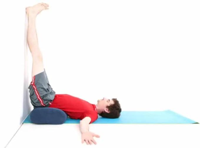 gerakan yoga viparita karani