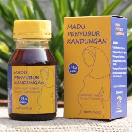 obat penyubur kandungan - madu al-mabruroh