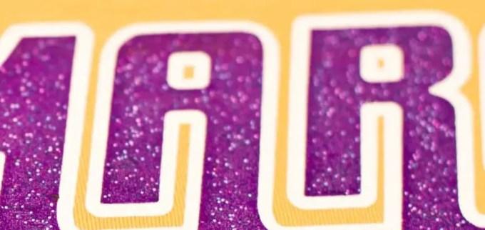 Cara Menghilangkan Sablon Jenis Glitter
