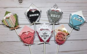 origami lollipop valentines' (With images) | Valentines, Origami ... | 189x300