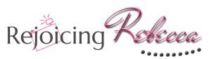 Rejoicing Rebecca Header Logo