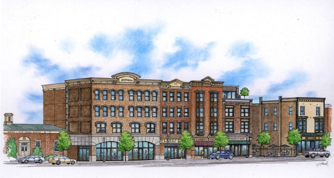 Rose Company to build first new mixed-use building in Medina's historic district in 50 years (image)