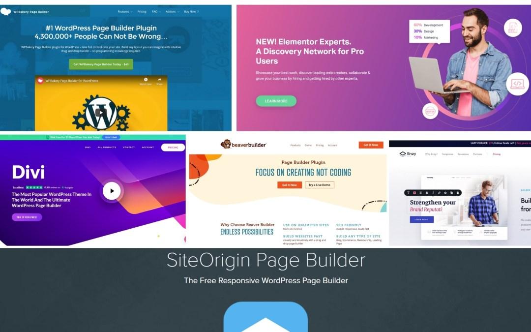 Top 10 WordPress Page Builders