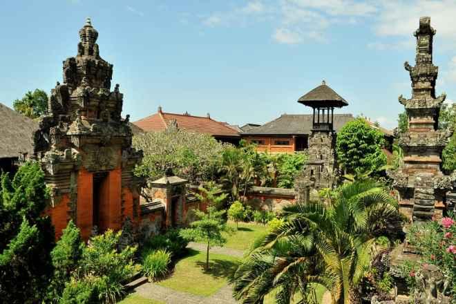 Bali Museum i Denpasar - Indonesien