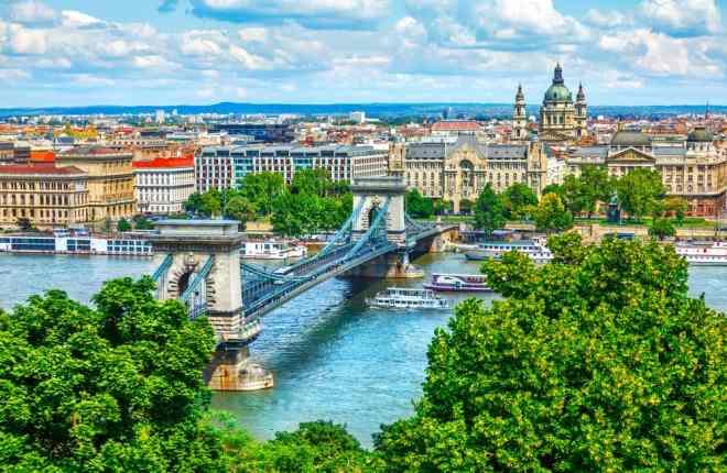 Hotel i Budapest