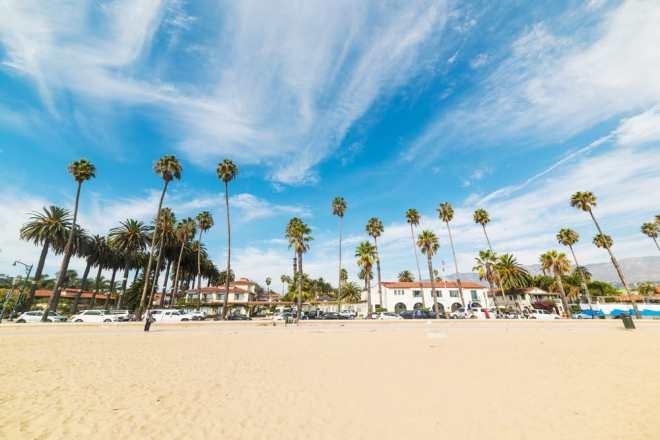 Santa Barbara - Californien i USA