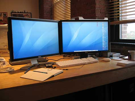Multiple Monitors Will Increase Your Firm's Productivity, Guaranteed