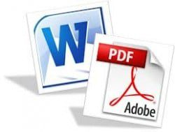 Create a PDF from Word