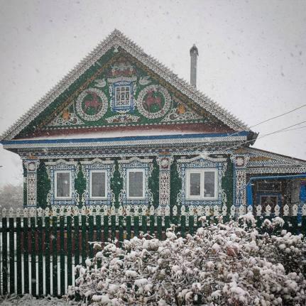 Altes Haus in Nischni