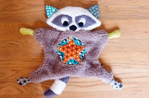 Flying Raccoon 1 face