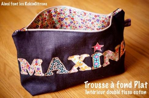 Trousse Maxine doublure