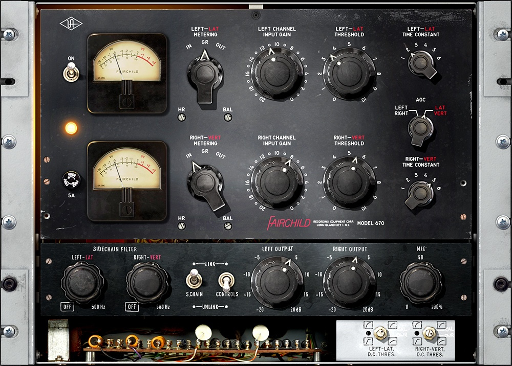 Universal Audio Fairchild Tube Limiter Collection For UAD