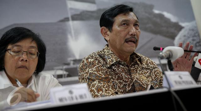 Luhut Ungkap Pencabutan Moratorium Reklamasi untuk Kepentingan Masyarakat