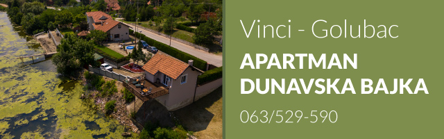 Apartman Dunavska bajka - Vinci