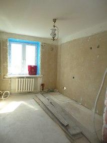 Rekonstrukce rodinného domu Praha Dobřichovice ložnice před rekonstrukce