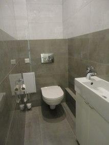 Rekonstrukce rodinného domu Praha Dobřichovice záchod