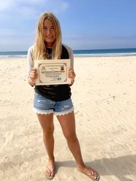 Die Marburgerin Nathalie Pohl stellt neuen Weltrekord auf