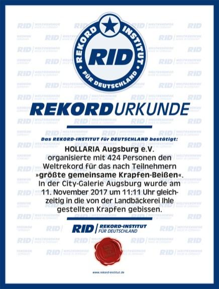 RID-Urkunde-Krapfenessen
