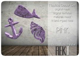 Rekt Nautical Set Pink