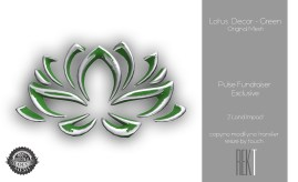 Rekt Lotus Decor - Green