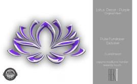 Rekt Lotus Decor - Purple