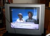 halbes Fernsehbild reparieren