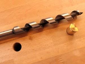langer Holzbohrer