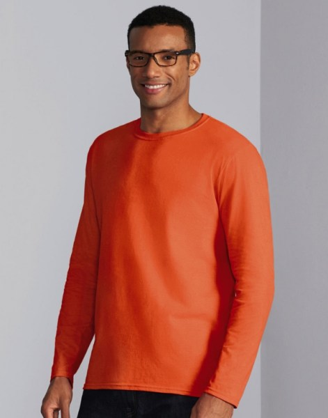 Basic T-shirt met Lange mouwen