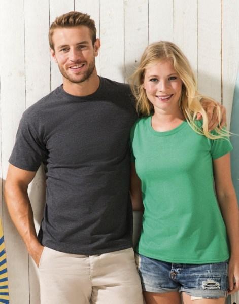 Promo T-shirt met Ronde hals