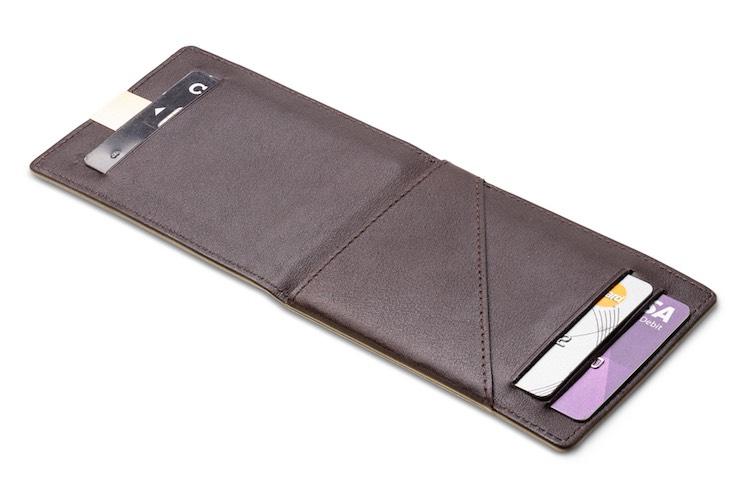 stijlvolle, dunne portemonnee