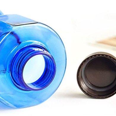 halter vorm waterfles relatiegeschenk gym sportschool bootcamp fitness vul met water