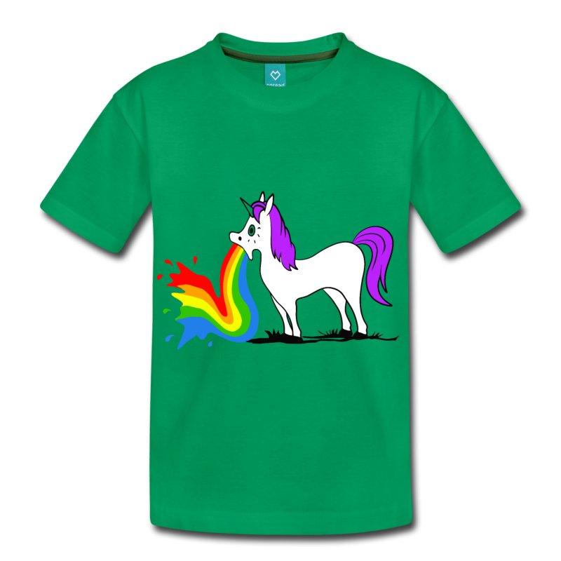 unicorn regenboog tshirt