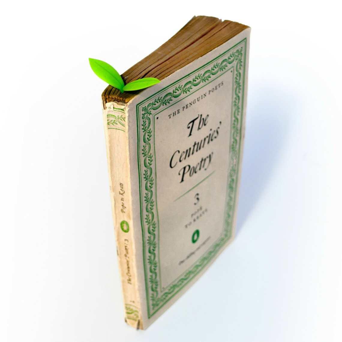 kiemplantje boekenlegger bedrukken relatiegeschenk idee