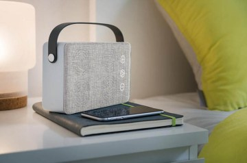 stijlvolle bluetooth speaker retro relatiegeschenk idee