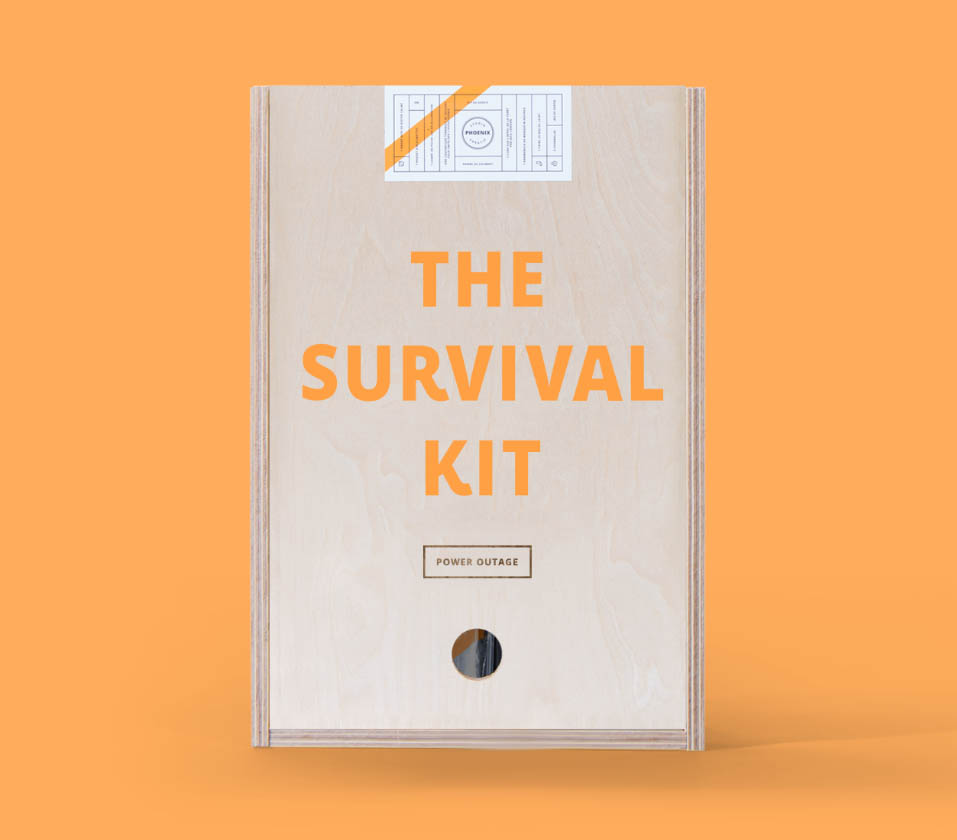 survival kit stroomuitval