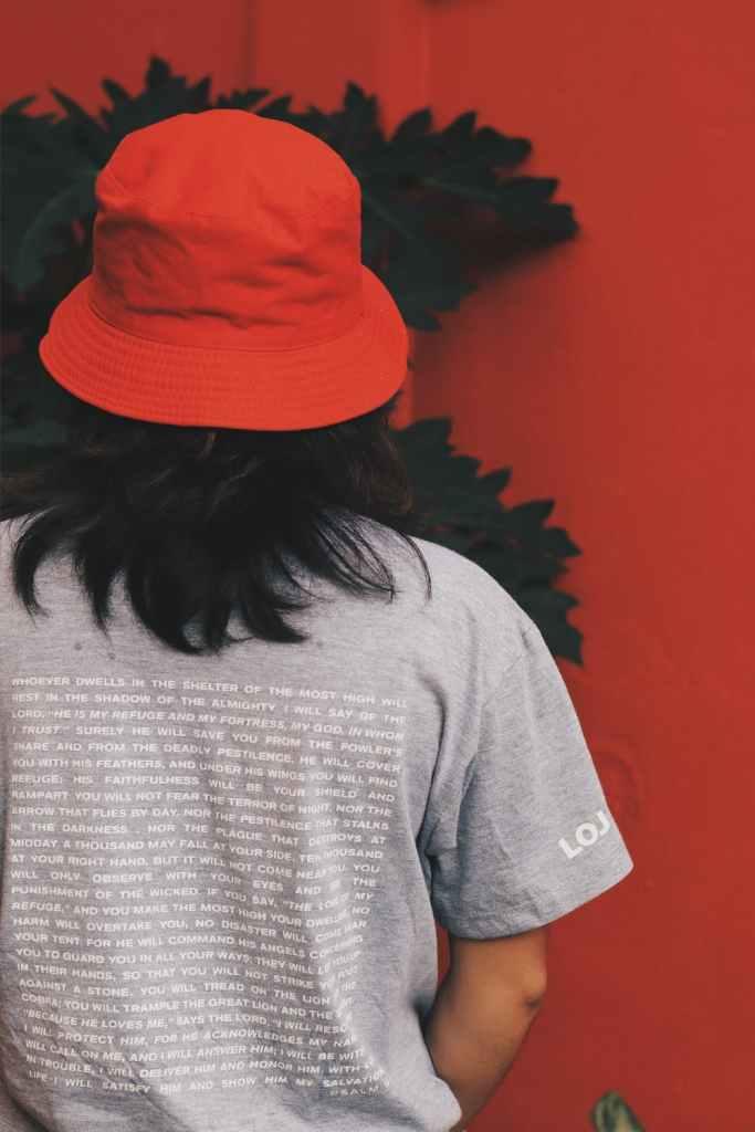 rood visserspetje bedrukken met logo
