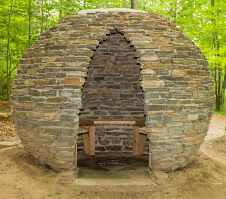 Stone Globe Hut
