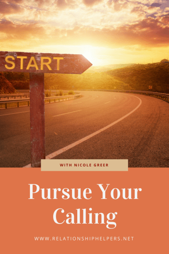 What's your calling? Learn from Relationship Helper's interview with Vibrant Coach Nicole Greer how to SHINE through your work as you pursue your purpose.