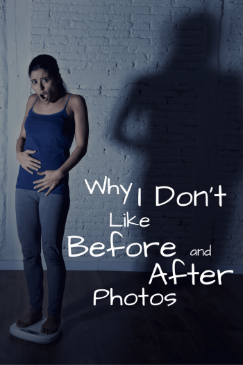 "God sees you differently. In ""Why I Don't Like Before and After Photos"" I give my personal and professional experience coping with self-image issues and provide helpful tips on a healthy approach to wellbeing from a Christ-centered approach."