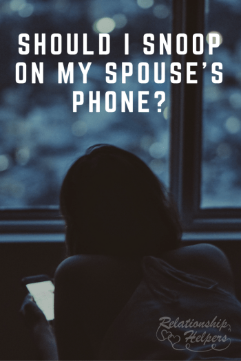 Should I Snoop on My Spouse's Phone? Concerned about suspicious behavior? Vincent & Laura Ketchie, couples therapists and husband and wife team, explore this common question.