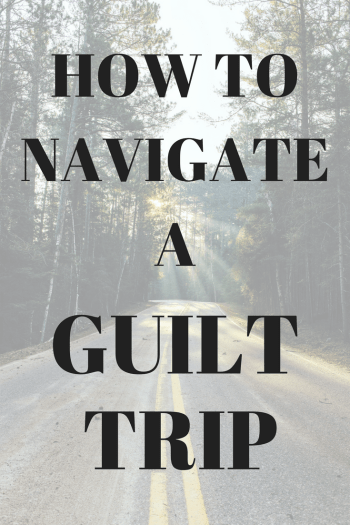 We all have people in our lives that make us feel guilty. Sometimes, it's your mother, a friend, or a spouse. In today episode, Laura and Vincent discuss guilt trips and how to handle them in a healthy way. They provide examples and role play ways to appropriately address the guilt-tripper.