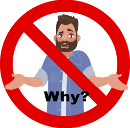 "Don't Use ""Why"" Questions"