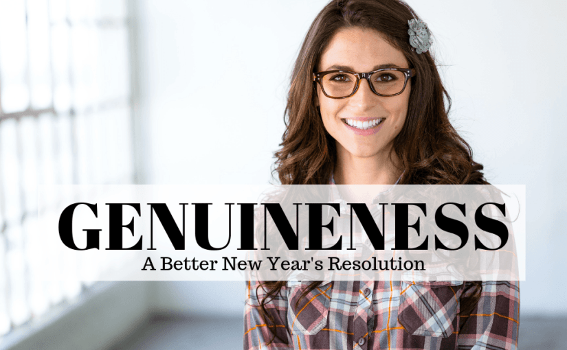 "What does a New Year's resolution mean to you? Are they empty promises that you make to yourself about the way you look or are they about something deeper? This is the 7th episode in an 8 part series entitled ""A Better New Year's Resolution."" In each episode, Vincent and Laura discuss a character trait that we would like to improve upon. This week's episode is ""Genuineness."""