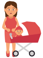 Attachment Theory: Mom & baby
