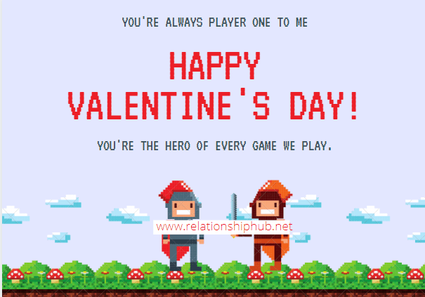 valentin's day messages for him