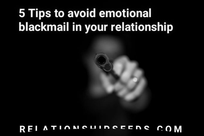 tips to avoid emotional blackmail