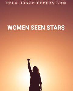 women seen stars