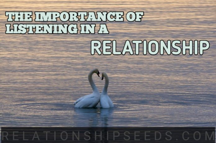 importance of listening in a relationship