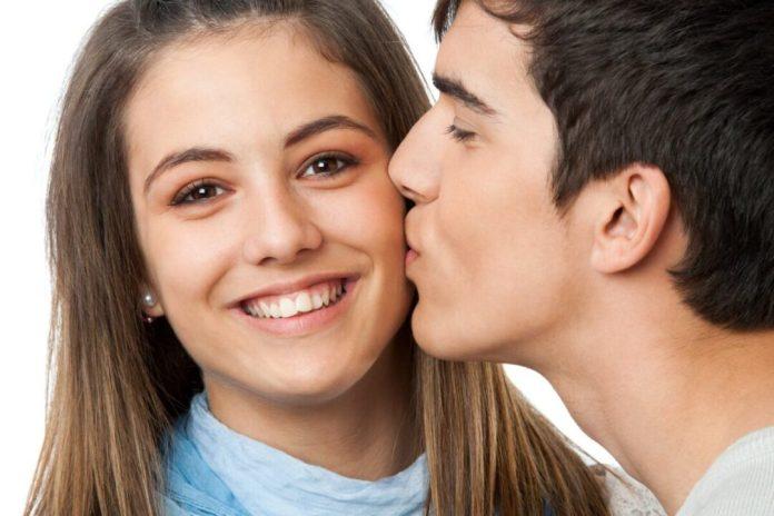 cheek kiss