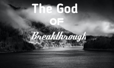 THE GOD OF BREAKTHROUGH